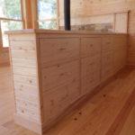 Pin cabinet room devider