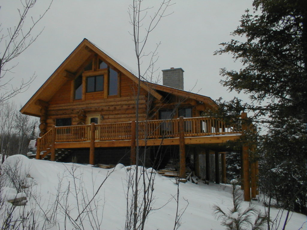 Western Red Cedar log cabin