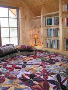 Loft nook sleeping area