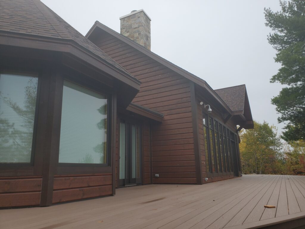 lakeside Deck, Custom home by Huisman Concepts