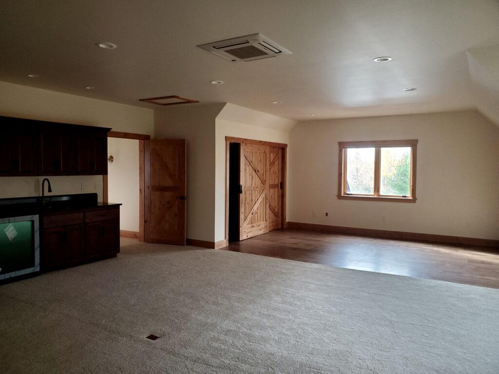 Bonus room area