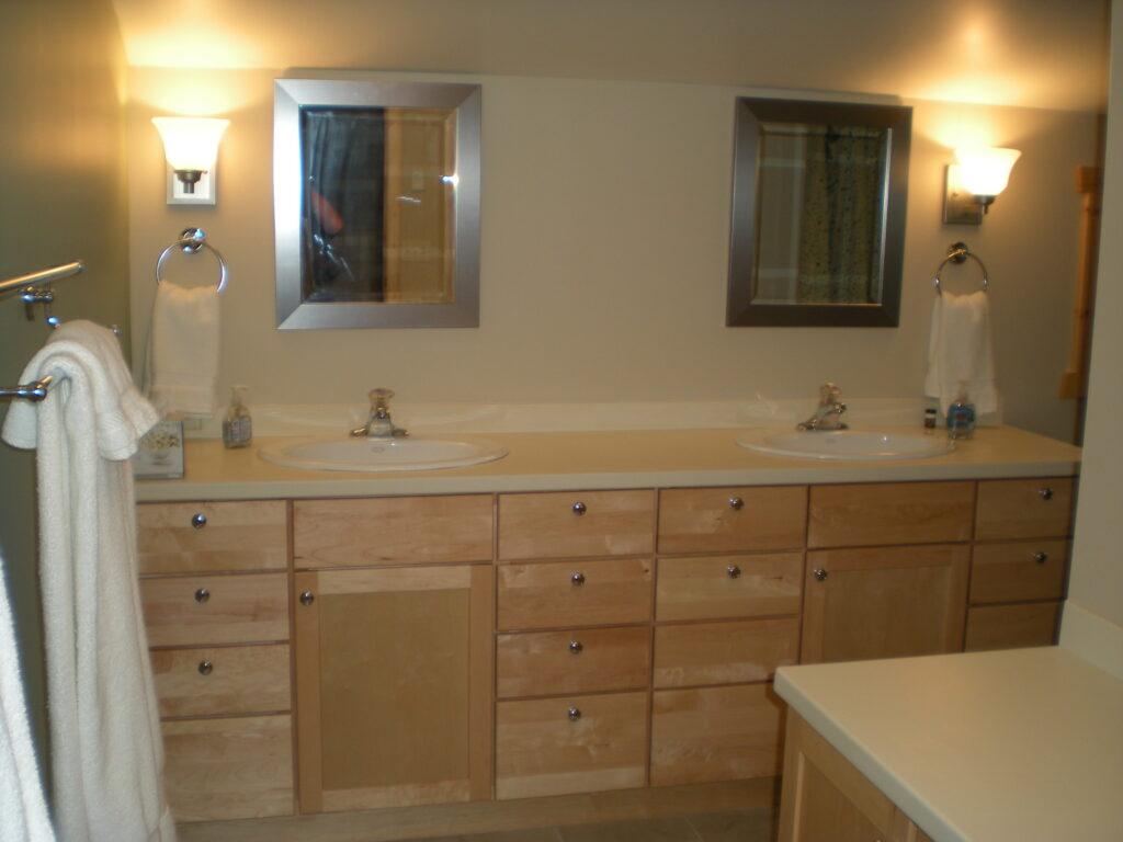 New bathroom after renovation