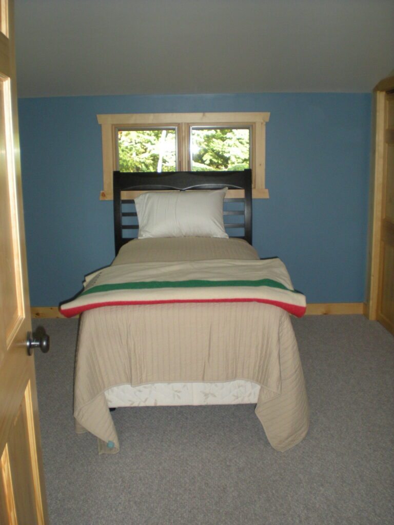 small bedroom after renovation