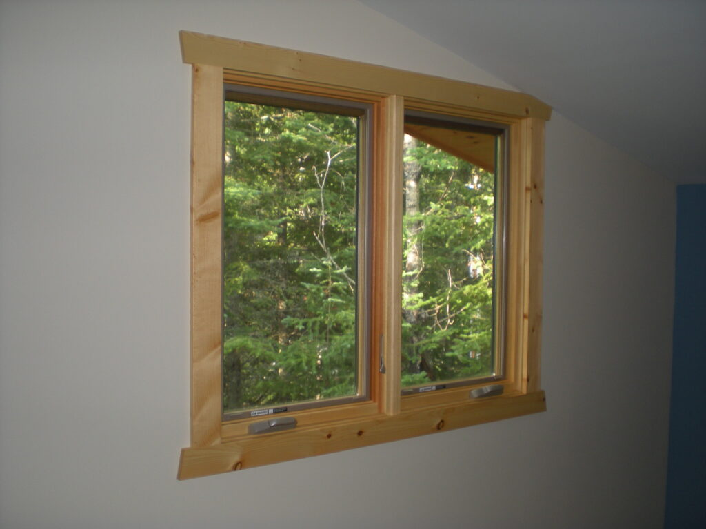 New window after renovation