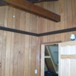 old paneling before renovation