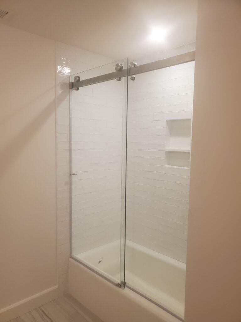 Family bath shower