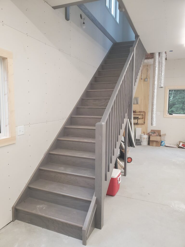 Stairs to 2nd floor in the barn
