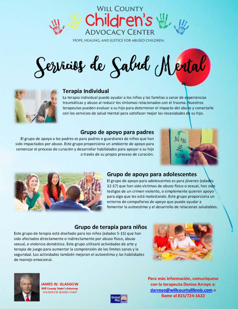 Mental Health Services Flyer - SPANISH