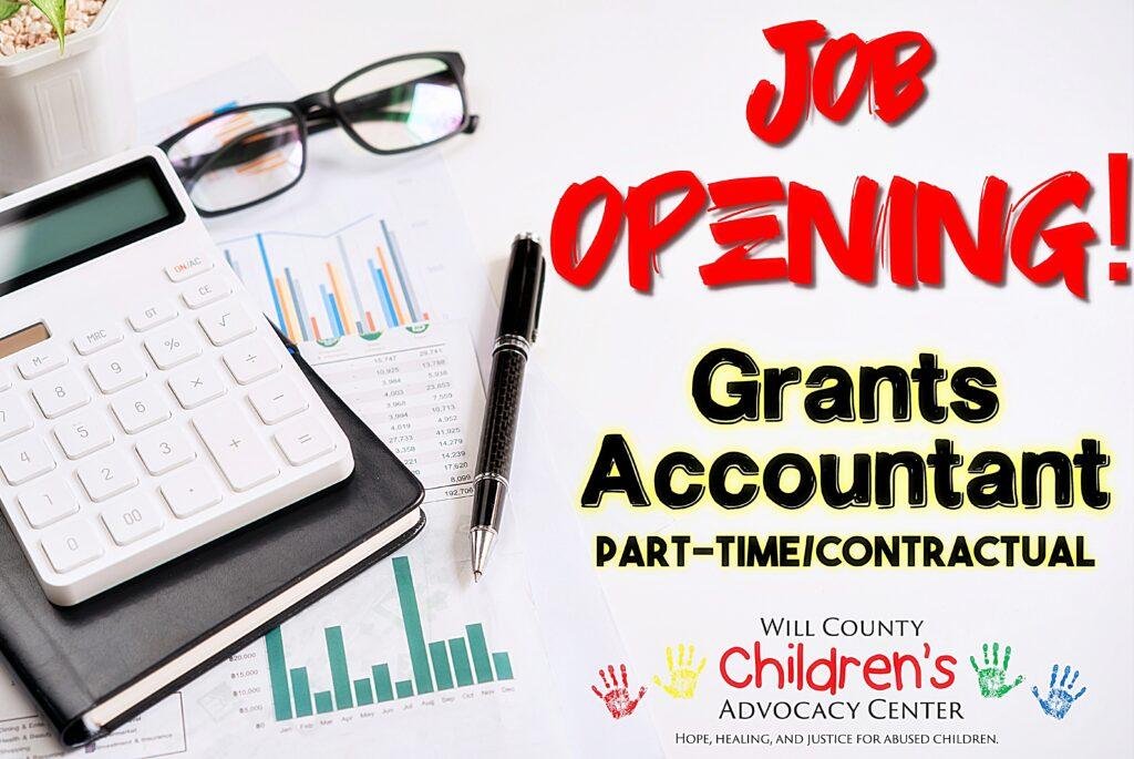 Job Opening Grants Accountant