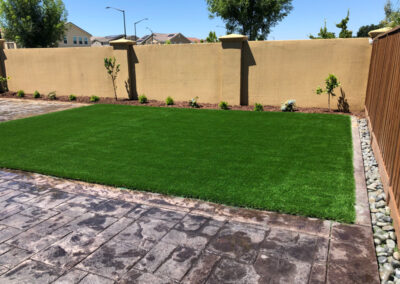 Bluegrass Supreme Turf installed in Gilroy, Ca