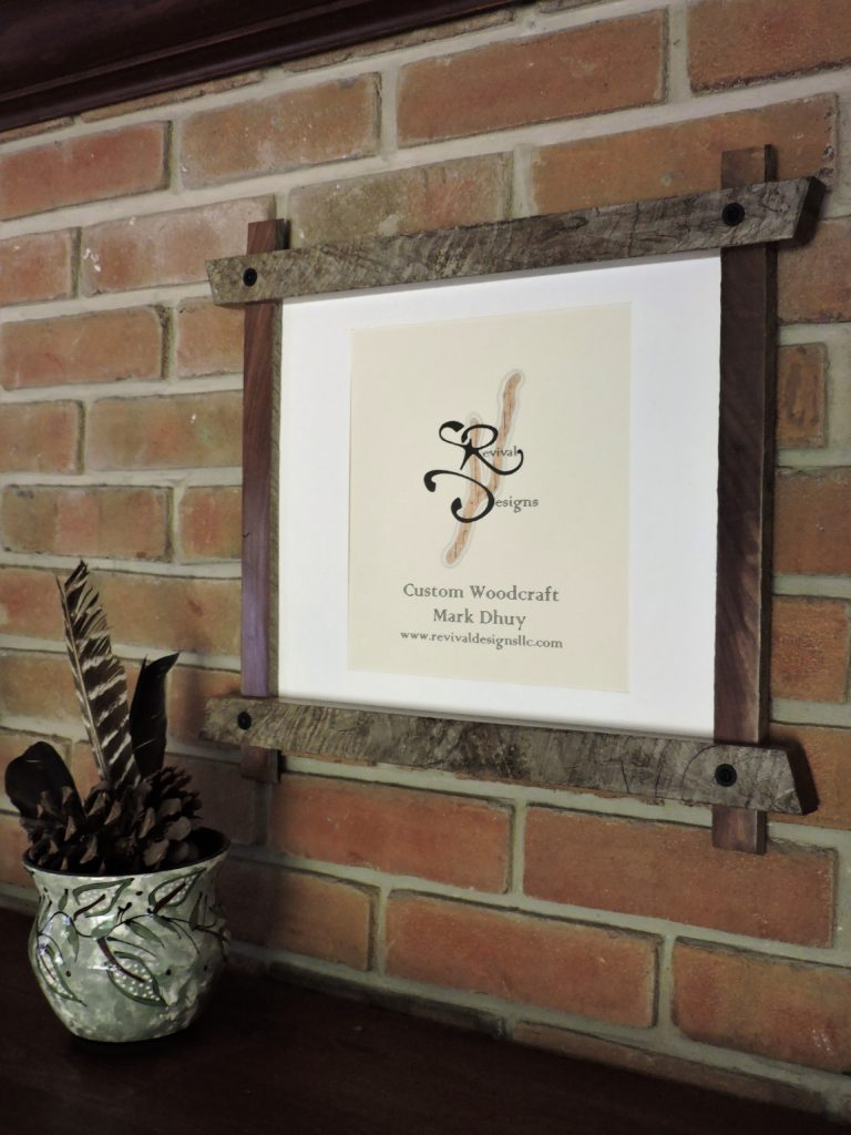 Revival Designs Black Walnut Frame