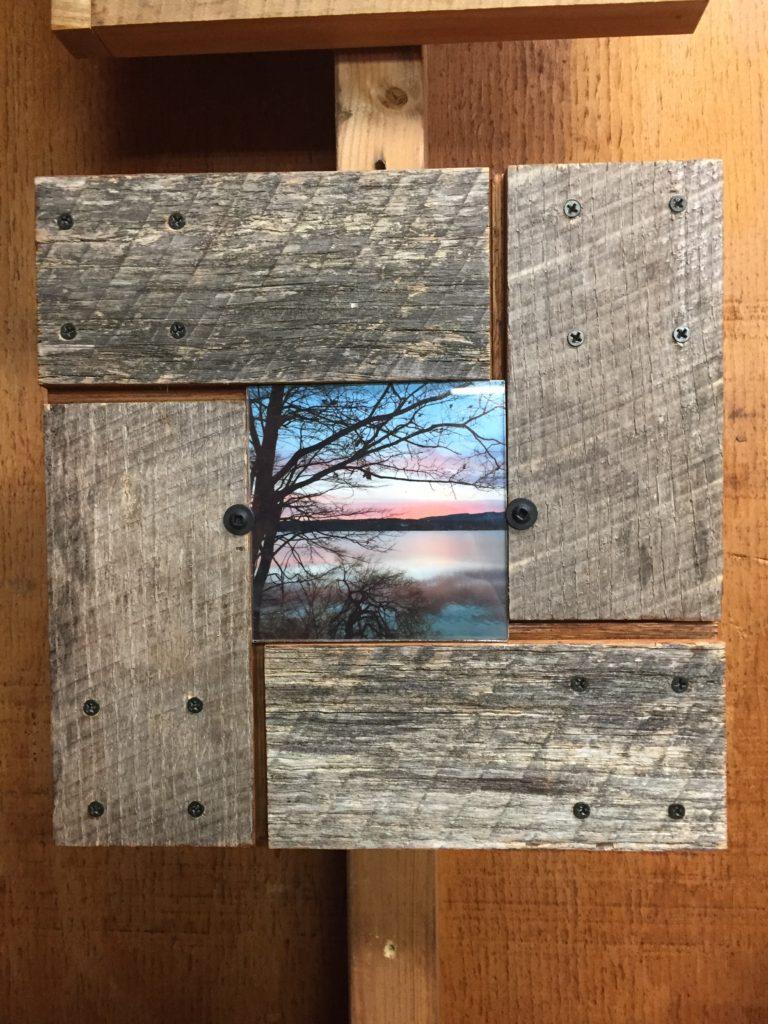 Revival Designs Red Oak Frame