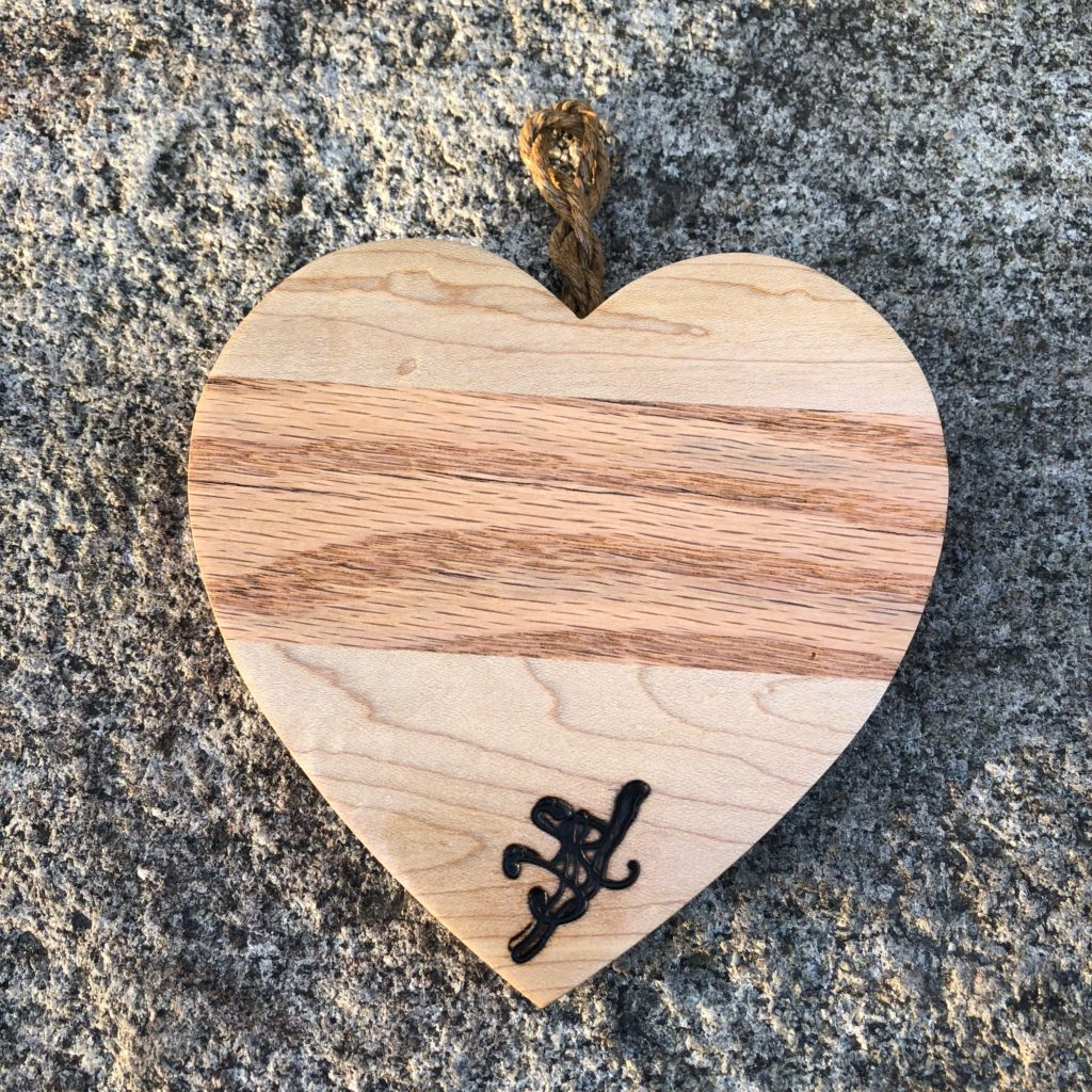Reclaimed Maple and Red Oak Seasonal Decor