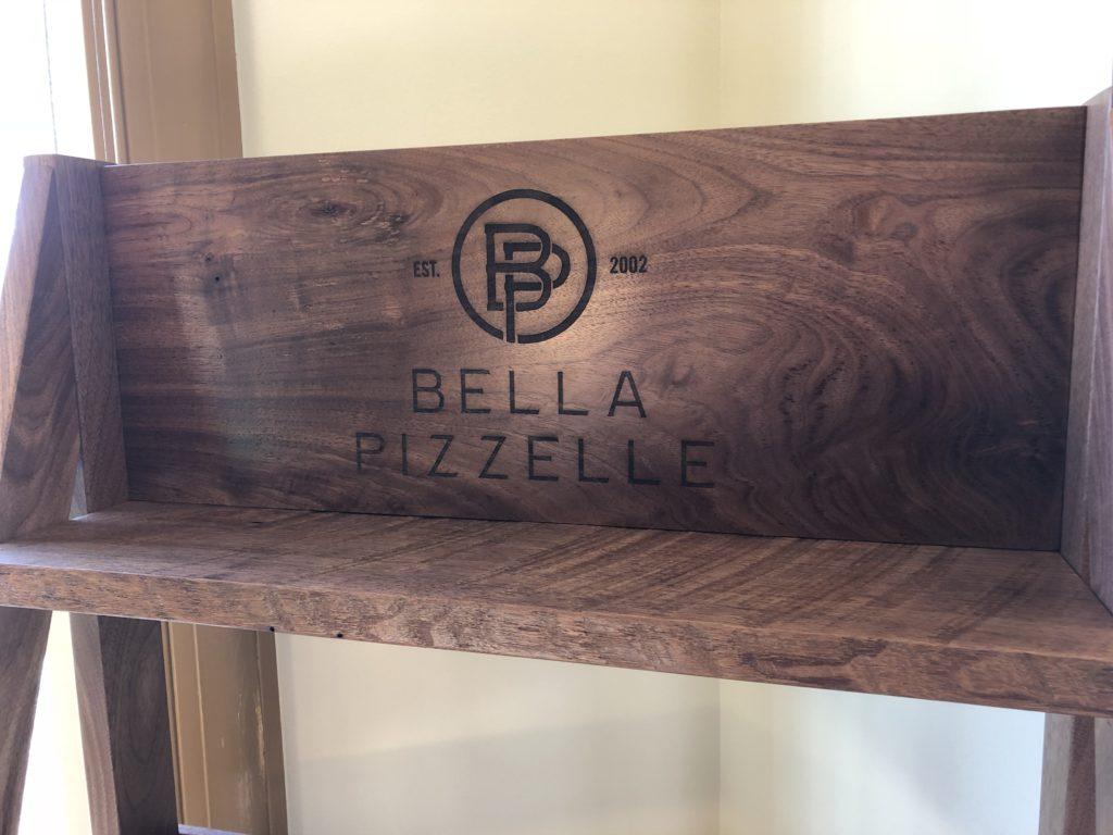 Reclaimed Black Walnut and Red Oak Kiosk https://bellapizzelle.com