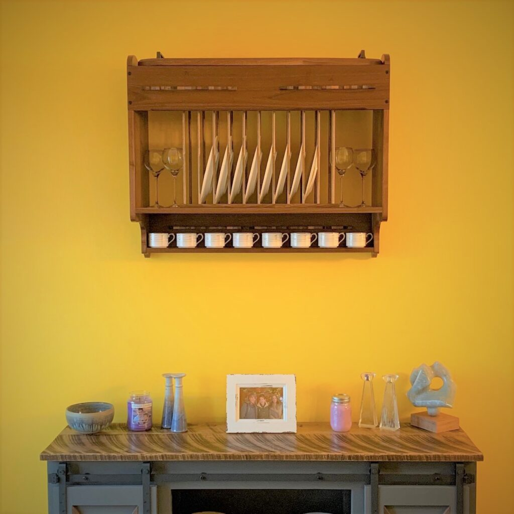 Plate Display and Sideboard