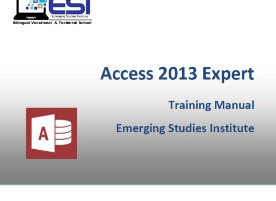 MS Access 2013 Expert