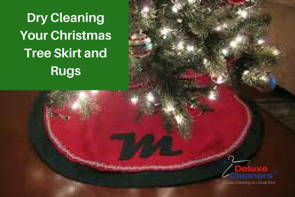 Dry Cleaning Your Christmas Tree Skirt and Rugs