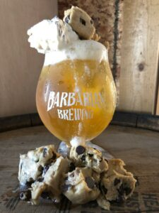 Cookie Dough Ice Cream Ale official launch party @ Barbarian Brewing