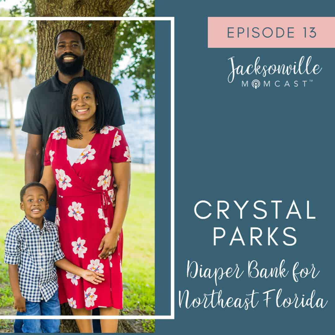 Crystal Parks the founder of Jax Diaper Bank