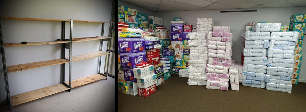 Jacksonville Diaper Bank Warehouse