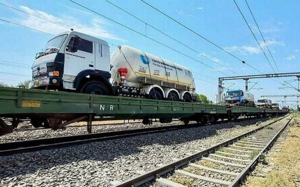Daily-NEWS-Summary 25-04-2021-the-first-Oxygen-Express-train-to-Delhi-carrying-around-70-tons-of-vital-gas