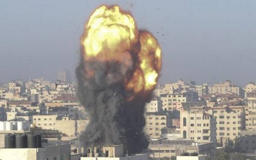 Daily-NEWS-Summary |15-05-2021-Israeli-airstrikes-destroy-Gaza-media-building-and-kill-several-Palestinian-children