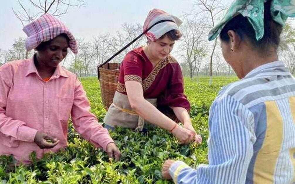 Weekly-NEWS-Summary | 26 Feb to 4 March 2021-Priyanka-Gandhi-in-Assam-Tea-Garden