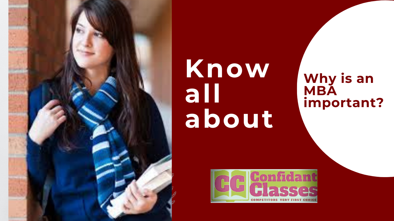 Know all about | Why is an MBA  important ?
