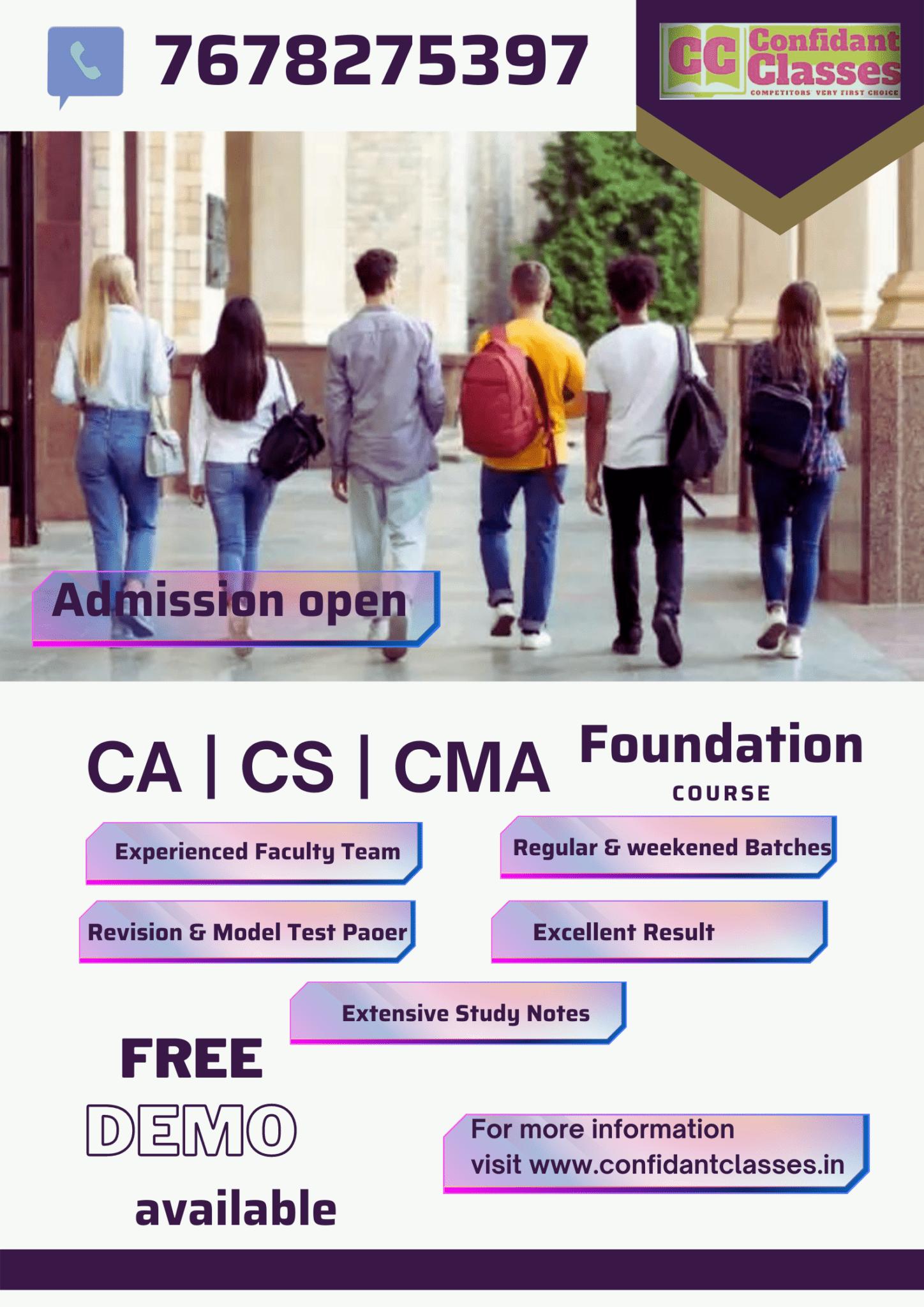 CS-CA-CMA-Foundation-course