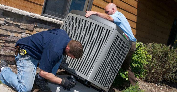 replacing AC unit