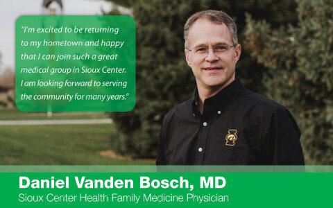 Daniel Vanden Bosch, MD