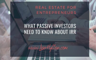 What Passive Investors Need To Know AboutIRR