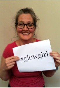 Kelly Covert Glow Girl!