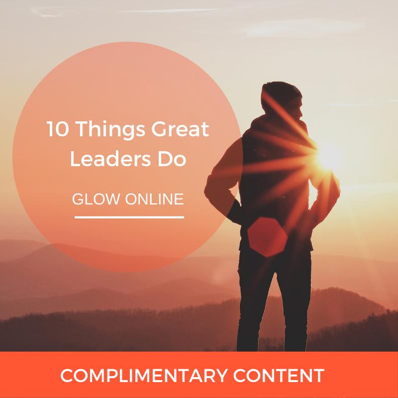 10 Things Great Leaders Do