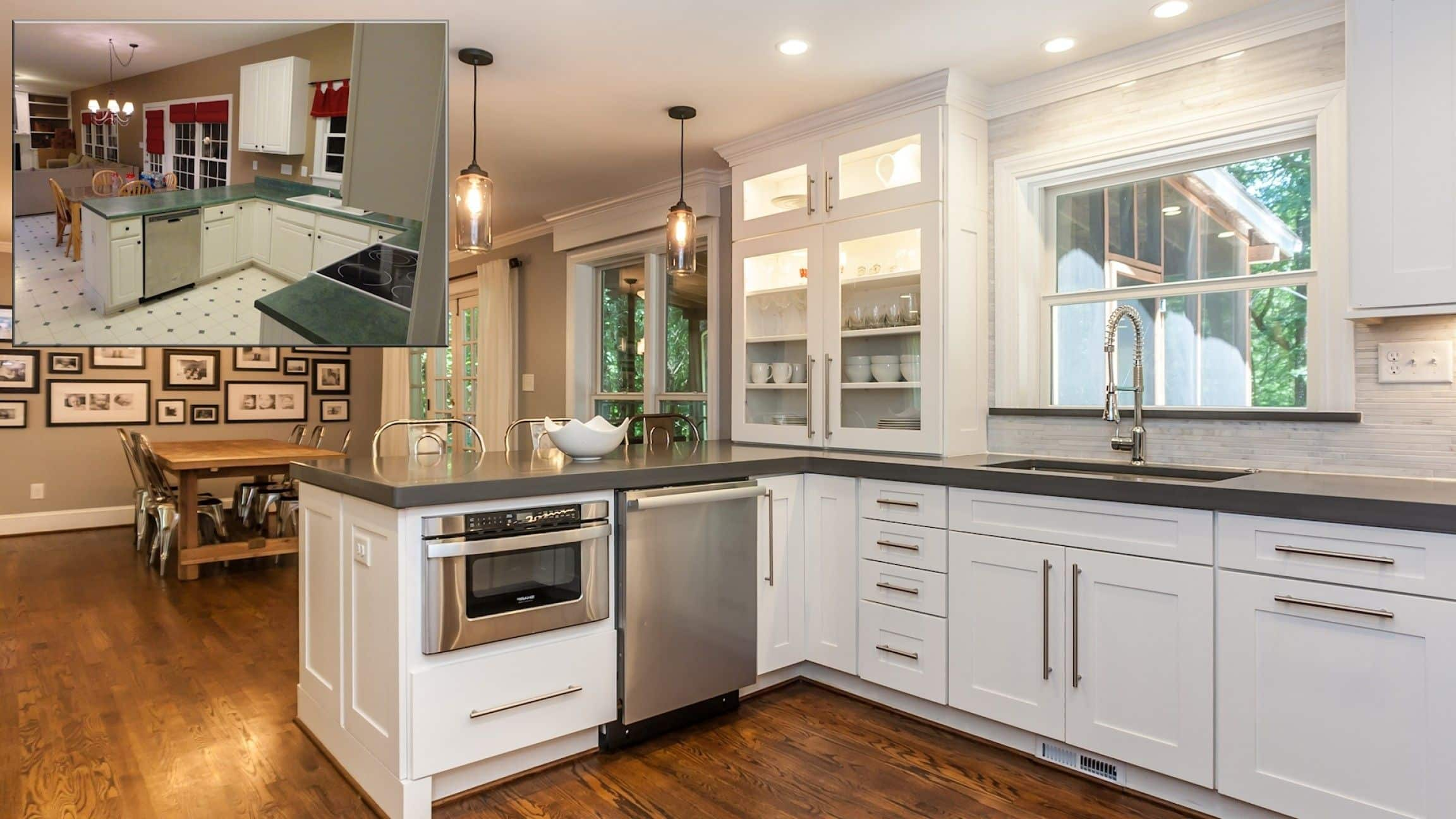 Kitchen Plumbing and remodeling transformation WOW