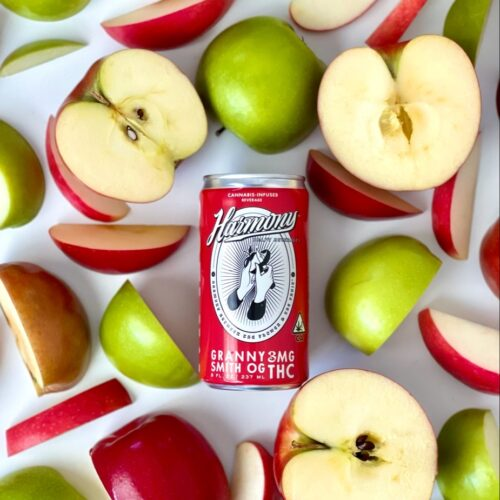 Hot new Canna-Beverage Alert! Meet Harmony Craft Beverages and its Malus Granny Smith OG Cider