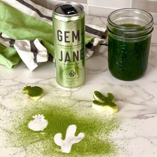 A Matcha Made in Heaven: Gem + Jane Elderflower Pear Matcha Soda