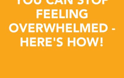 You can stop feeling overwhelmed – here's how!   Kathleen Fanning   Ctrl+Alt+Delete w/ Lisa Duerre