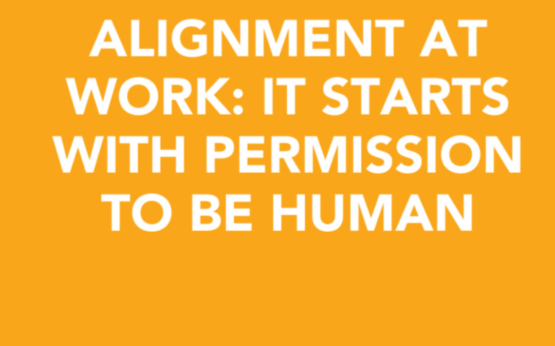 Igniting alignment at work: it starts with permission to be human| Marybeth Hyland | Ctrl+Alt+Del w/ Lisa Duerre