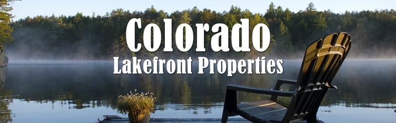 Colorado Lakefront Property