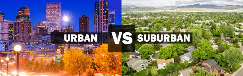 Urban vs. Suburban Living
