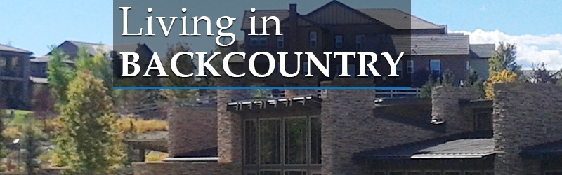Living in Backcountry Highlands Ranch