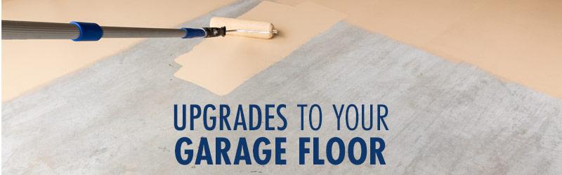 Upgrades To Your Garage Floor