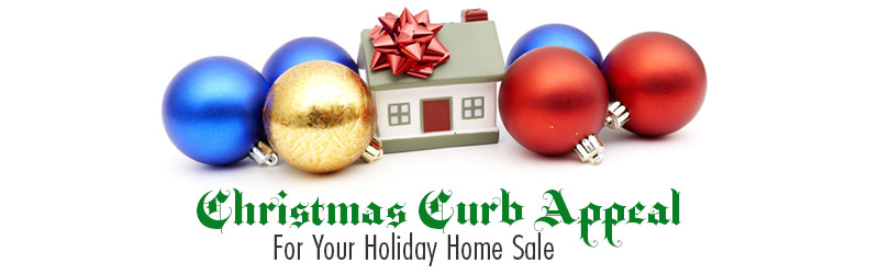 Christmas Curb Appeal For Your Holiday Home Sale