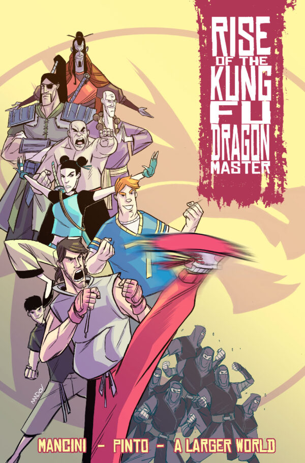 Rise of the Kung Fu Dragon Master Graphic Novel