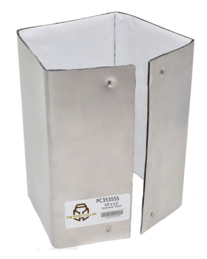 The Post Collar 4x4 Stainless Steel PC3535SS