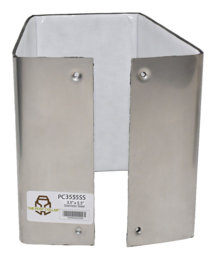 The Post Collar 4x6 Stainless PC3555SS