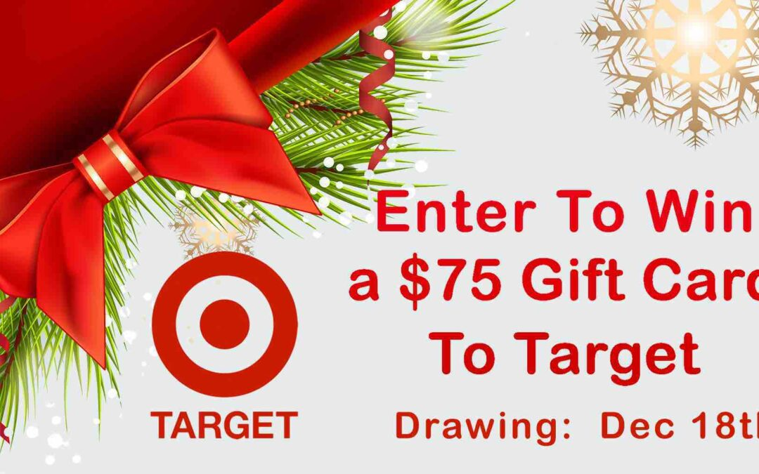 Enter to Win a $75 Gift Card