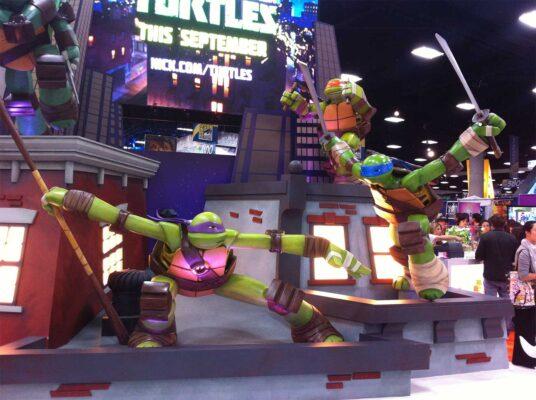 Teenage Mutant Ninja Turtles San Diego Comic-Con