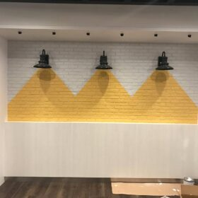 QVC (West Chester Campus) - Office Renovations, Faux Panels